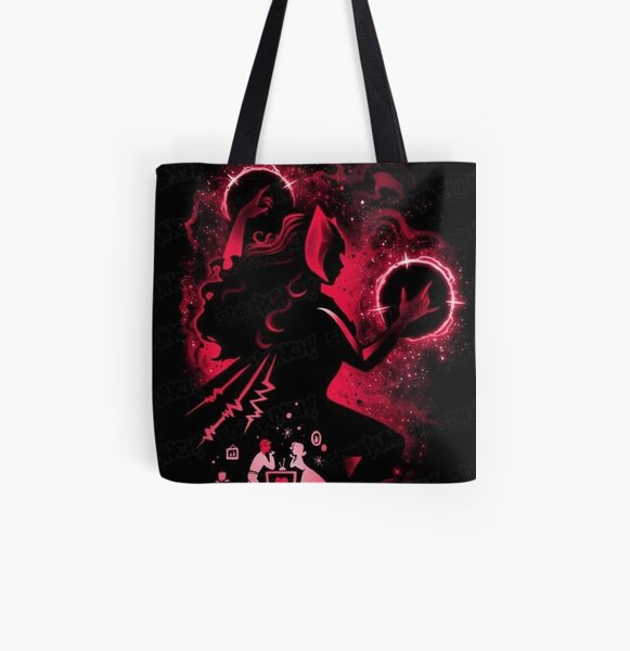 wanda red All Over Print Tote Bag RB2904product Offical WandaVision Merch