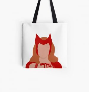Wanda Character Halloween Dress Up  All Over Print Tote Bag RB2904product Offical WandaVision Merch