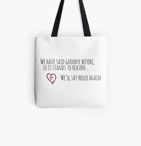 To grow old in (wanda & vision) All Over Print Tote Bag RB2904product Offical WandaVision Merch