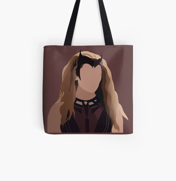 Wanda All Over Print Tote Bag RB2904product Offical WandaVision Merch