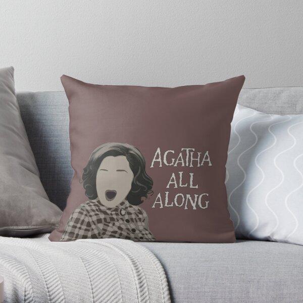 Agatha All Along Throw Pillow RB2904product Offical WandaVision Merch