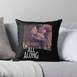 It was agatha all along  Throw Pillow RB2904product Offical WandaVision Merch