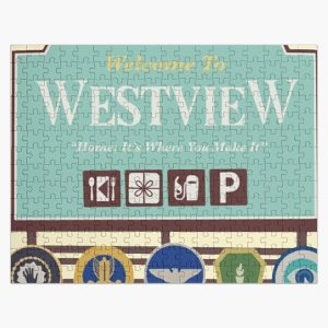 vintage story Jigsaw Puzzle RB2904product Offical WandaVision Merch