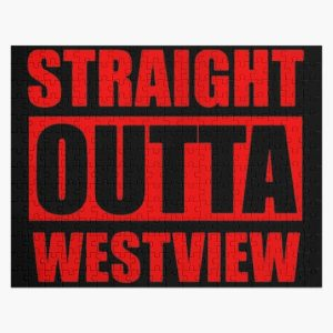 straight outta.. Jigsaw Puzzle RB2904product Offical WandaVision Merch