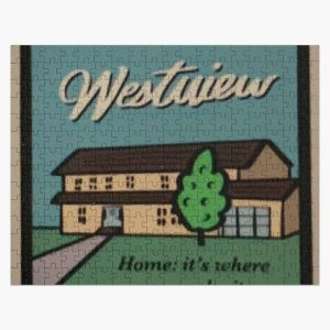 westview stamp Jigsaw Puzzle RB2904product Offical WandaVision Merch
