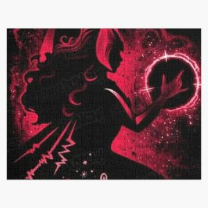 wanda red Jigsaw Puzzle RB2904product Offical WandaVision Merch