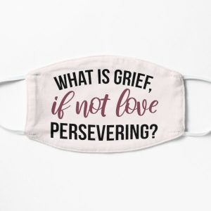 What Is Grief, If Not Love Persevering?  Flat Mask RB2904product Offical WandaVision Merch