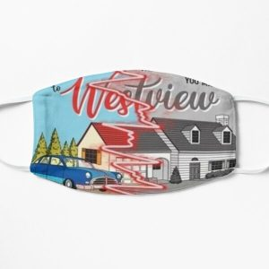 westview black and color Flat Mask RB2904product Offical WandaVision Merch
