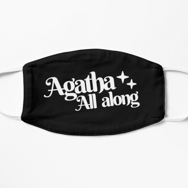 Agatha All Along  Flat Mask RB2904product Offical WandaVision Merch